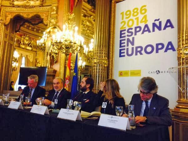 Carlos Carnero, Charles Powell, Cayetana Álvarez de Toledo, Pedro Solbes