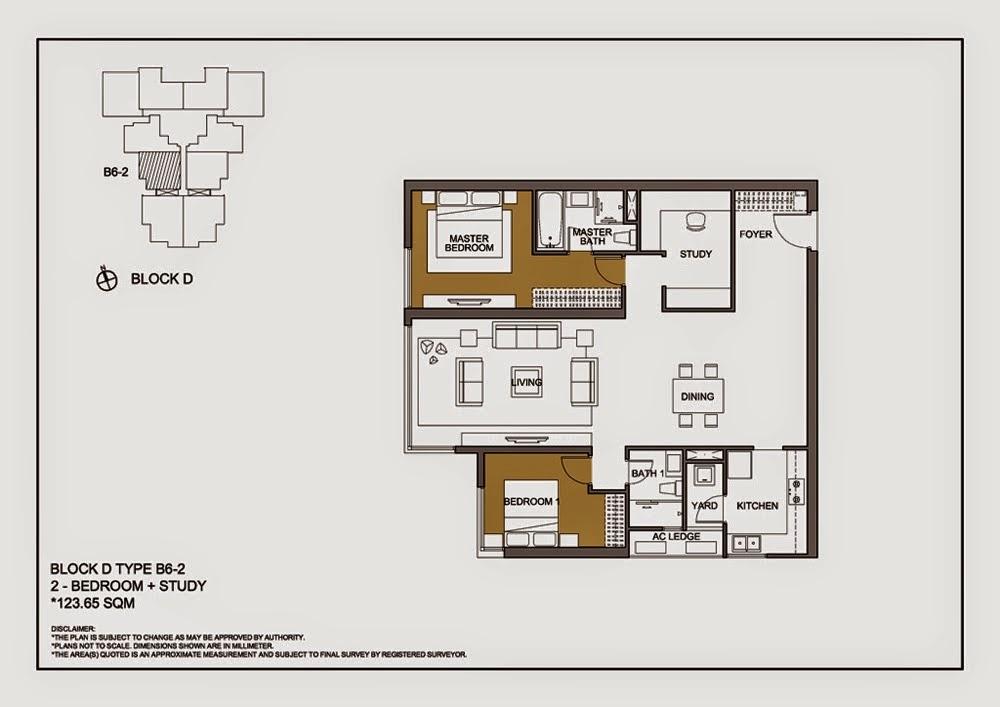 Thiết kế căn B6-2 Chung cư Mulberry Lane