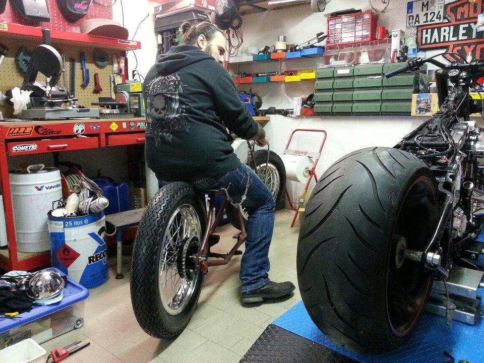 American motorcycles by rbm garage - American motorbike garage ...