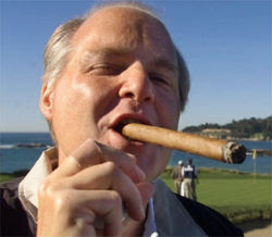 Limbaugh looks like a real prick