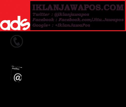 Pasang Iklan Jawa Pos Display Paket Prima Ad 2015