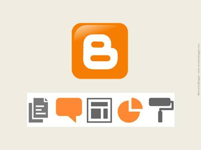 Nova interface do Blogger