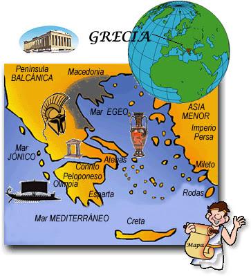 geografia de grecia y roma: