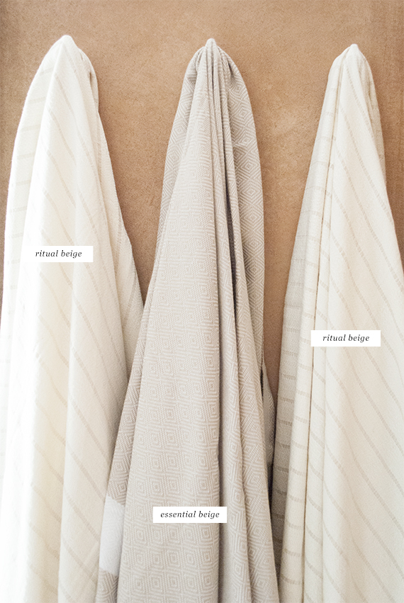 Turkish towels by SUTOWELS