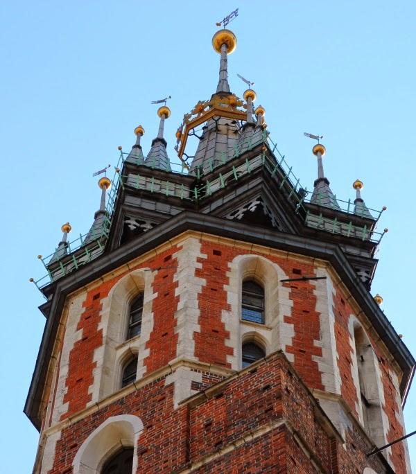 Kraków Wieża Mariacki