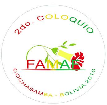 LOGO FAMAF 2016 COCHABAMBA - BOLIVIA