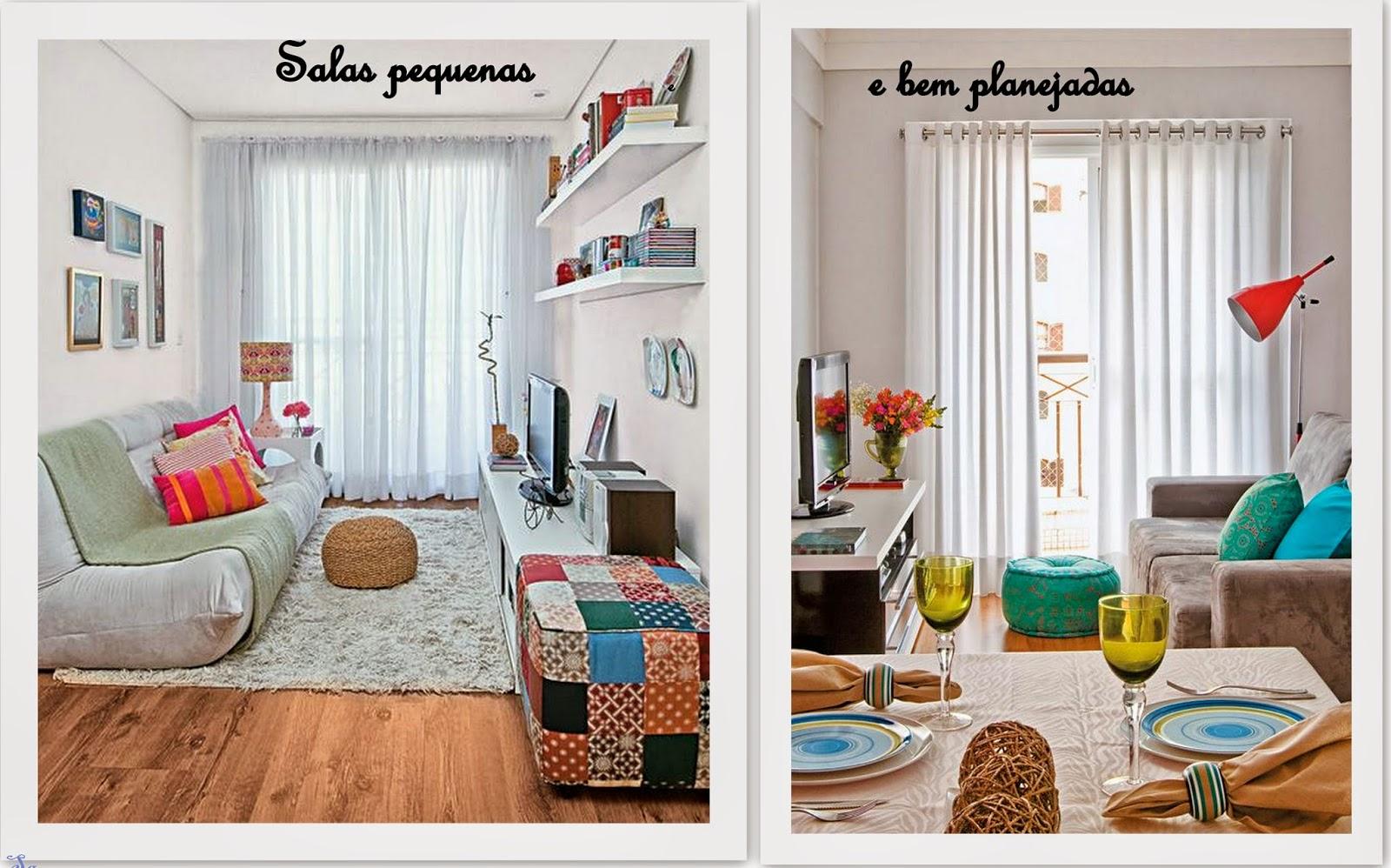 Sala Pequena Mas Bem Decorada ~   Decoração  Reciclados Salas Lindas, Pequenas e bem Decoradas