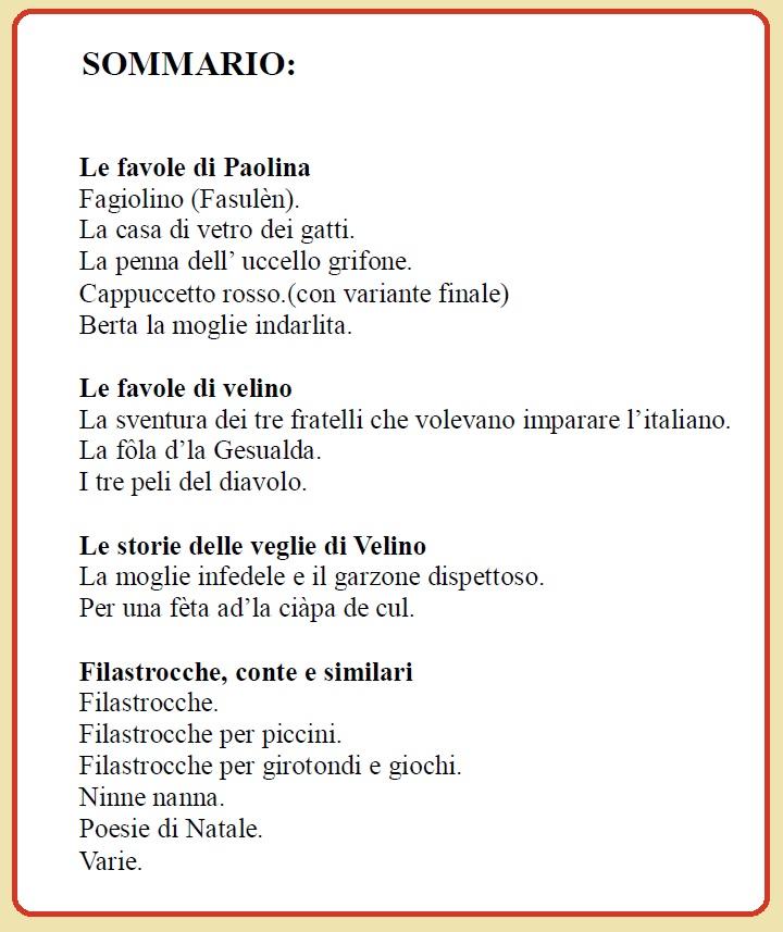 Extrêmement il Blog di Palmiro Capacci: FILASTROCCHE JV98