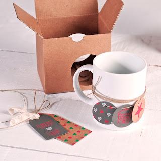 Boîte en carton pour tasses, offrir des boîtes personnalisées, selfpackaging, self packaging, selfpacking