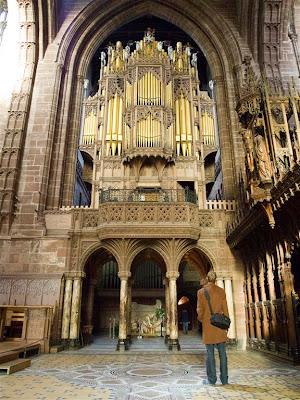 Órgano de la Catedral de Chester