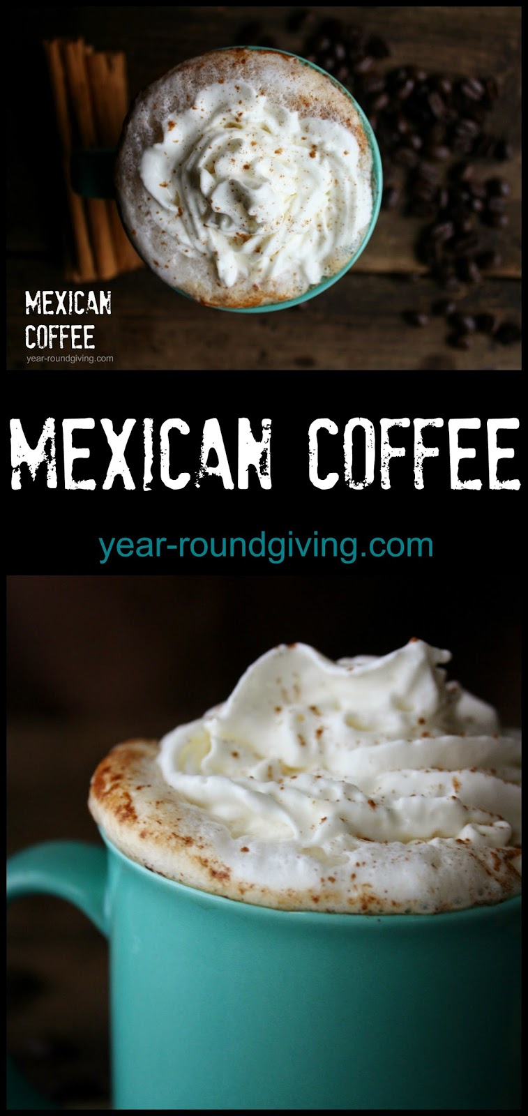 Mexican Coffee made with kahlau!