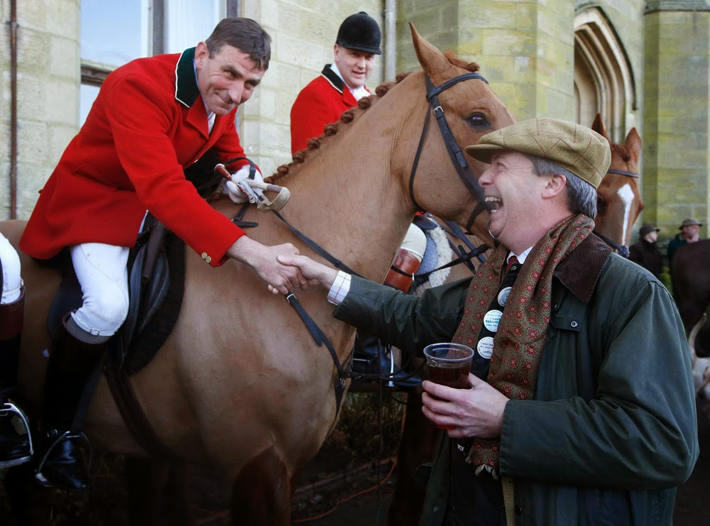 ukip fox hunting