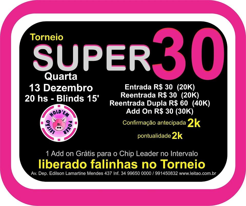 TORNEIO SUPER30