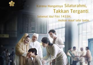 Kata ucapan Idul Fitri 2012