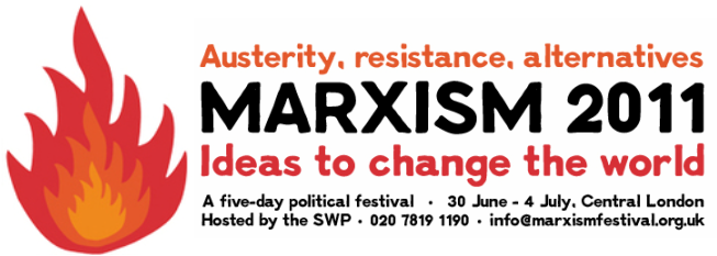 Marxism 2011 from the 30th June – 4th July 2011