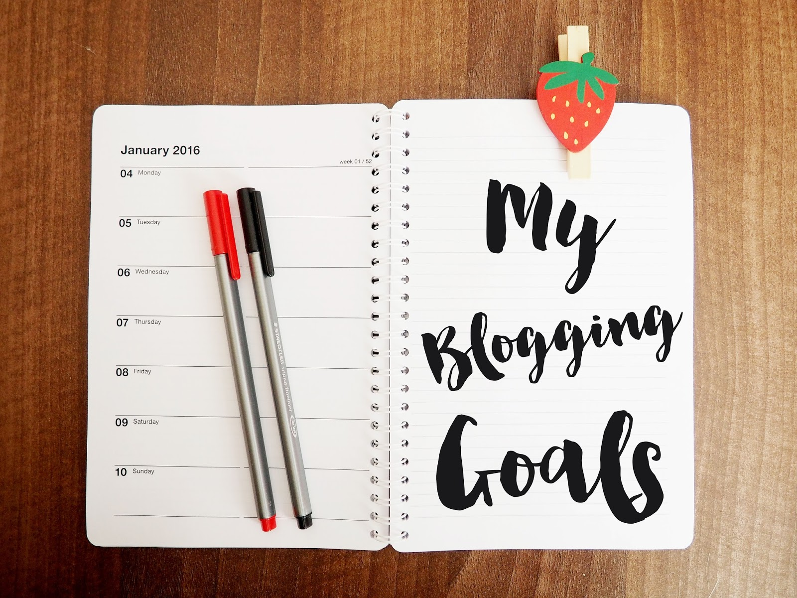My Blogging Goals and Challenges