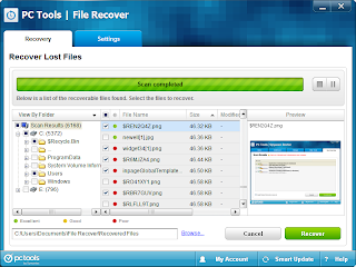 Emergency File Recovery