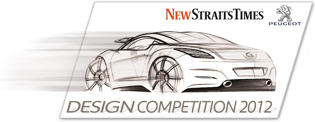 NST-Peugeot Design Competition 2012 is a go!