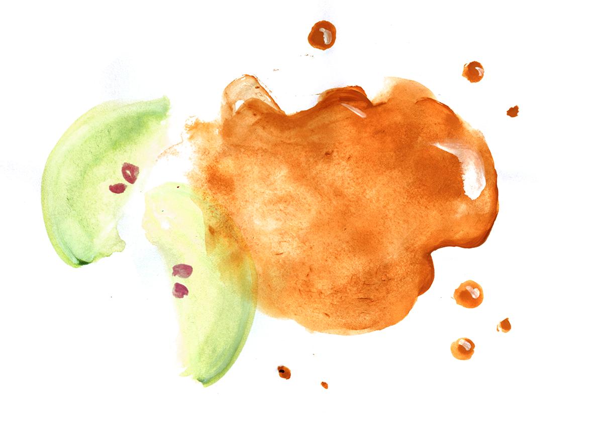Apple Cider Caramel, Lauren Monaco Illustration