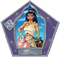 Cromos de ranas de chocolate Circe