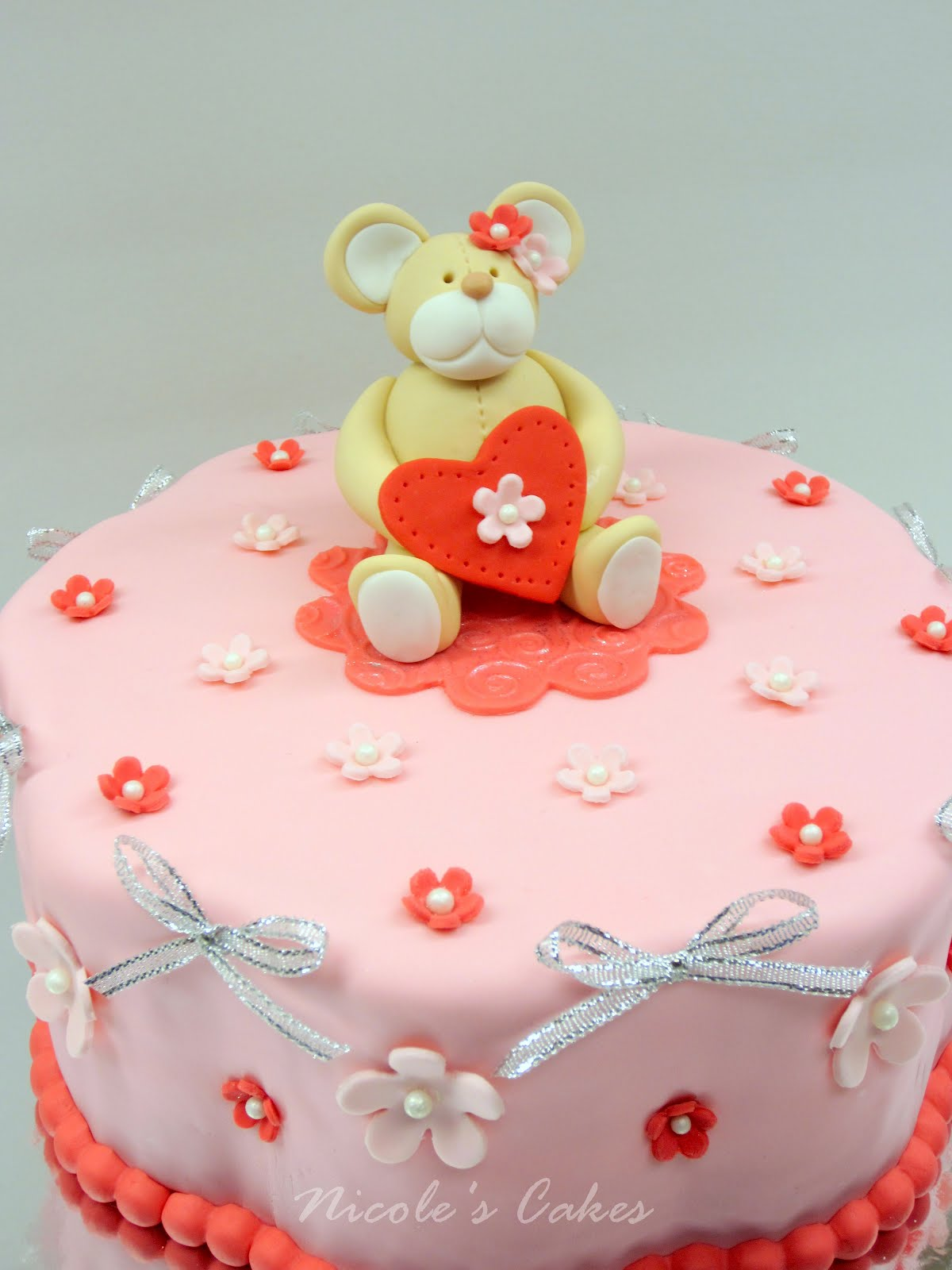 On Birthday Cakes A Valentines Birthday Cake