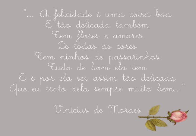 Obfrases Seus Sentimentos Em Uma Frase Vinícius De Moraes