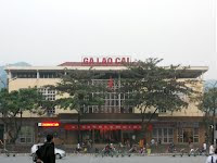 Train station of Lao Cai (Sapa)