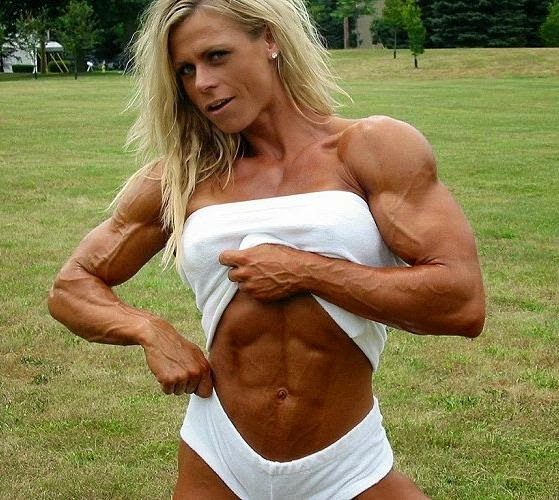 Christine Roth is one of the top female bodybuilding stars