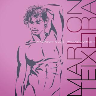 Marlon Teixeira by Kai Karenin, vector illustrations