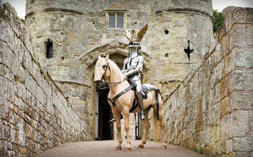 Carisbrooke Castle, England.