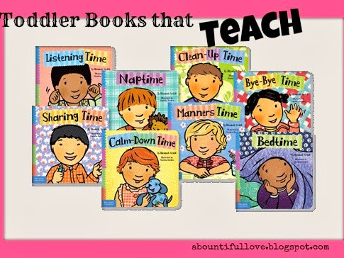 Toddler Books that Teach