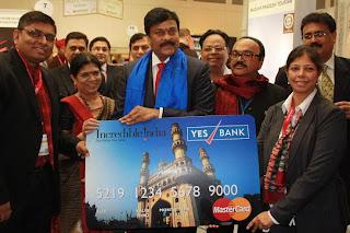 chiru-launch-Incredible India Travel Card