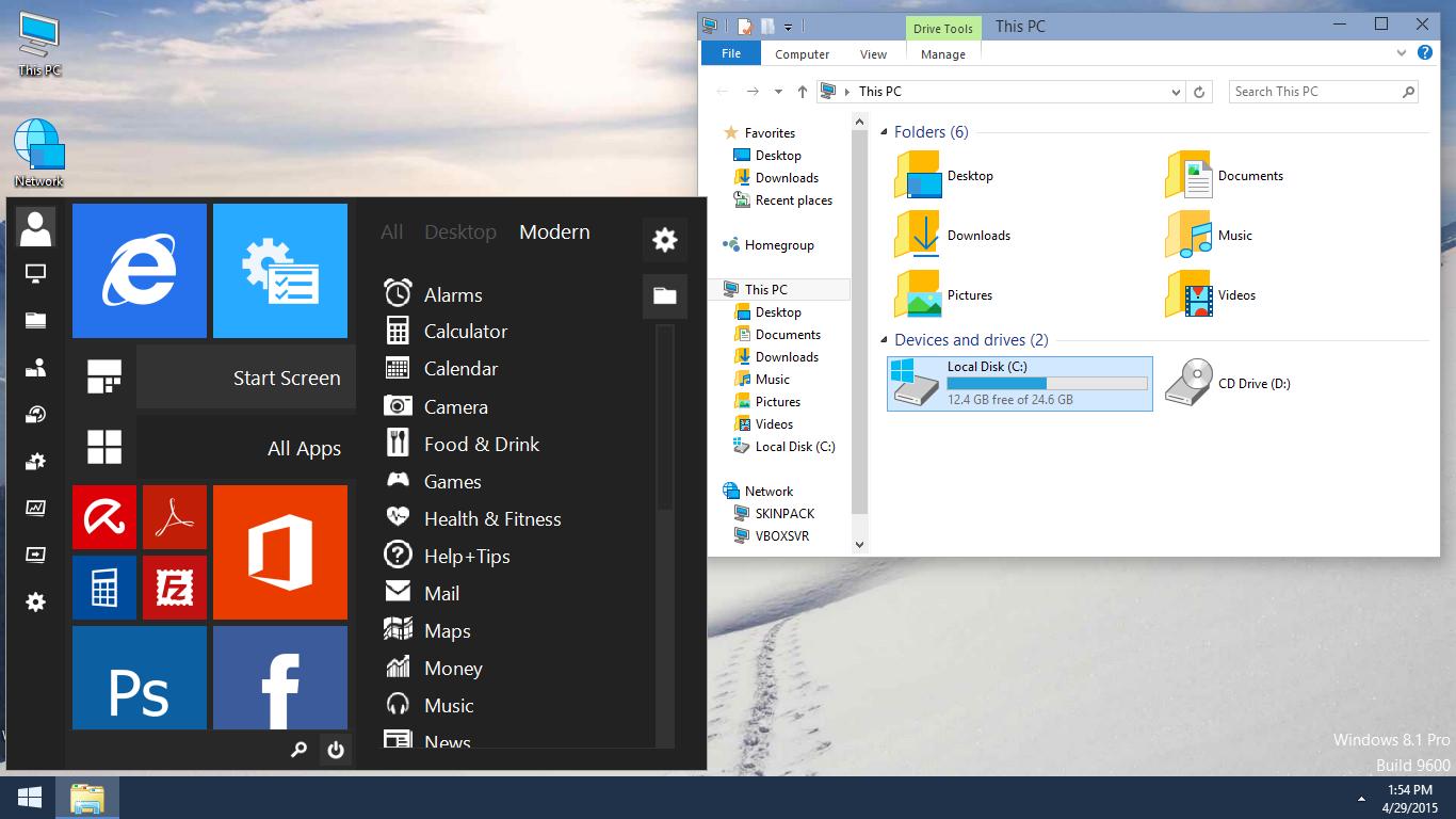Windows 10 skin pack untuk windows 7 8 dan 8 1 alan alun