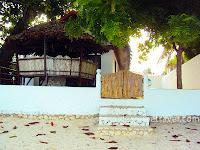 Delgado beach house in White beach