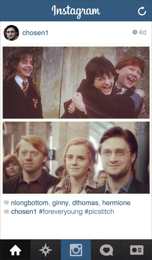 Harry Potter Had Instagram