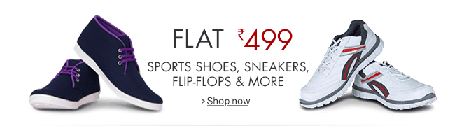 Amazon Shoes FLAT 499