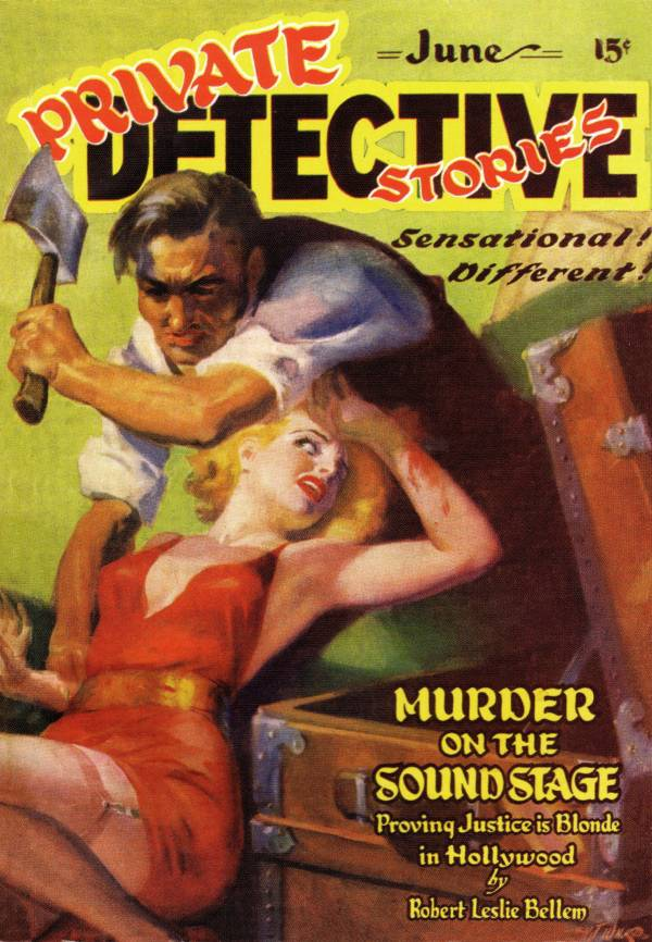 Image result for private detective pulp illustration