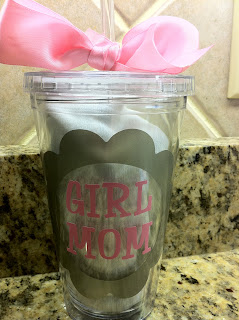 girlmom acrylic cup/tumble