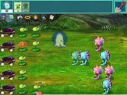 Cây cối và người ngoài hành tinh, game ban sung