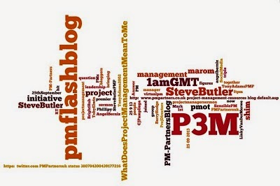 p3m global flashblog from Steve Butler, PMP - Project Management: An Exercise in Common Sense