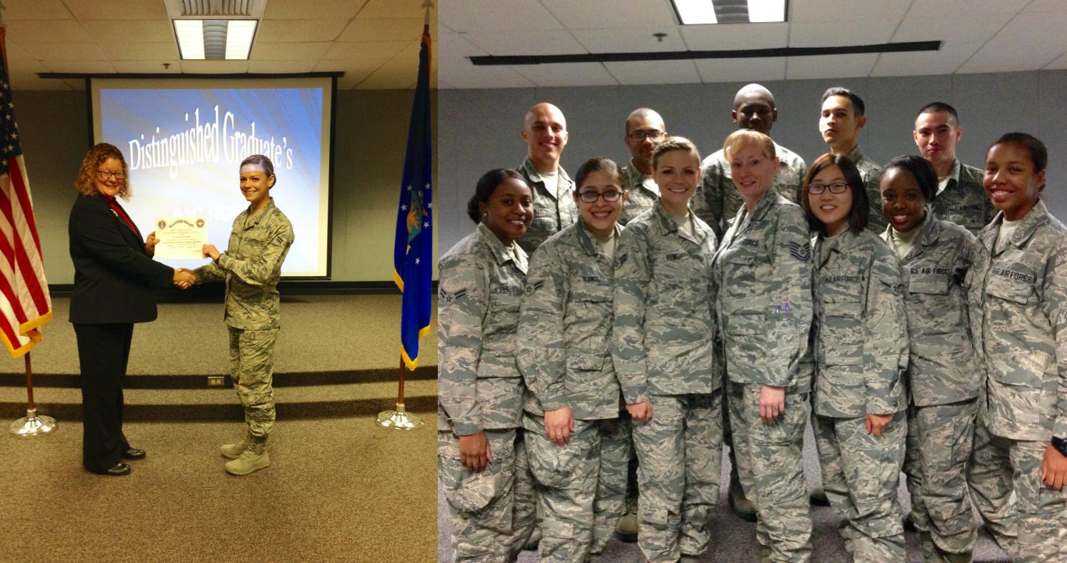 Keesler AFB Personnel Apprentice Course Distinguished Graduate