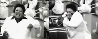 a trompetista Tiny Davis