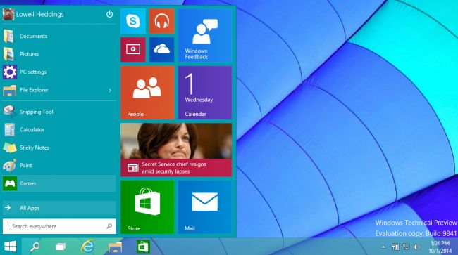 Как в windows 10 сделать пуск как в windows 8
