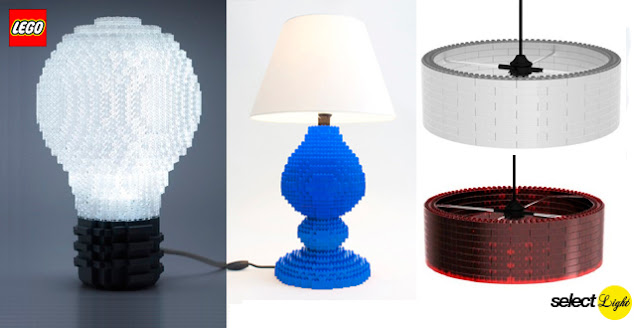 Lego Lamps - Ole Kirk Christiansen