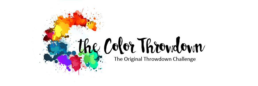 Colour Throw Down Challenge Blog