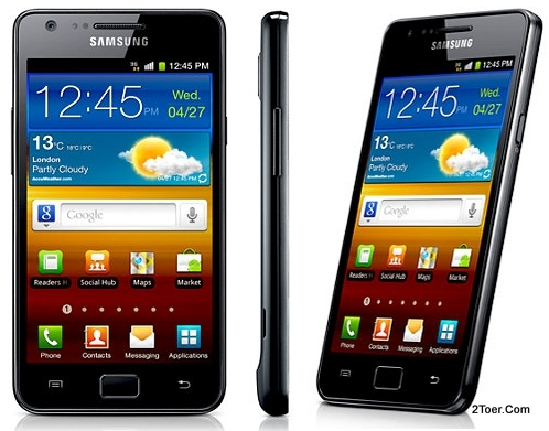 Samsung Galaxy S II GT I9100 (S2) Factory Reset Open Rear Cover Insert
