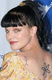 Pauley Perrette Tattoo Designs