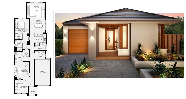 Casas y sus planos imagui for Casas modernas planos y fachadas