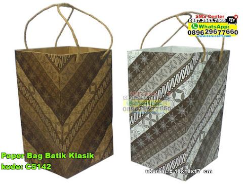 Paper Bag Batik Klasik