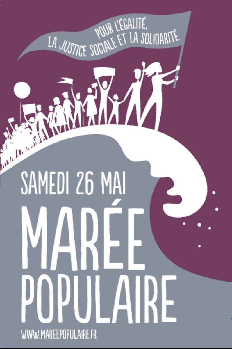 26 mai Maree Populaire